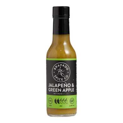 Bravado Jalapeno and Green Apple Hot Sauce