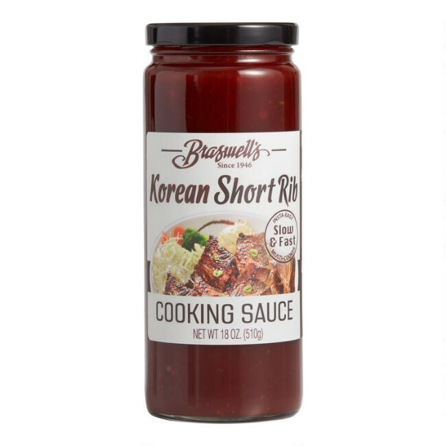 Braswell's Korean Short Rib Slow Cooker Cooking Sauce