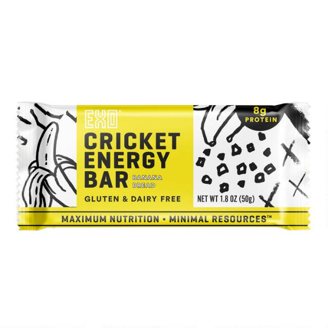 EXO Banana Bread Cricket Energy Bar