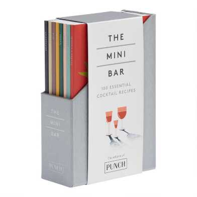 The Mini Bar Cocktail Recipe Book Collection 8 Piece