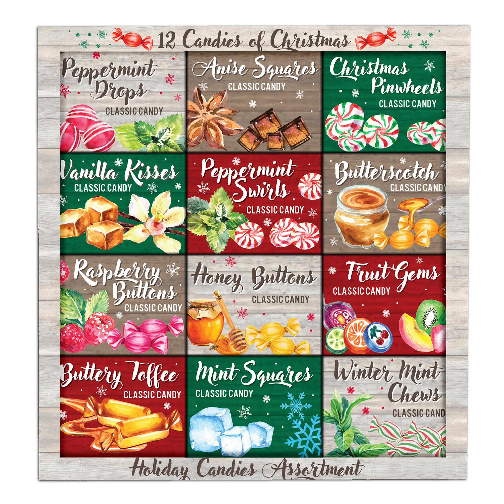12 Candies of Christmas Holiday Candy Assortment by World Market