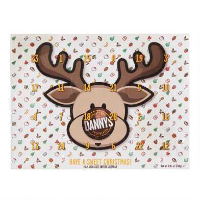Danny's Milk Chocolate Reindeer Advent Calendar