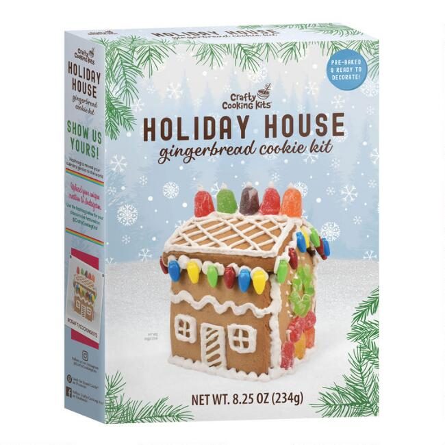 Woodland Holiday Gingerbread House Kit