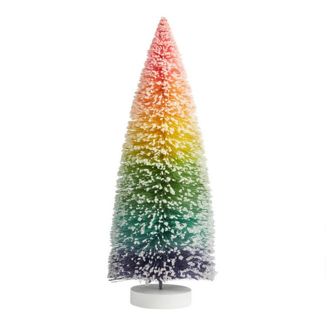 Ombre Rainbow Bottlebrush Tree