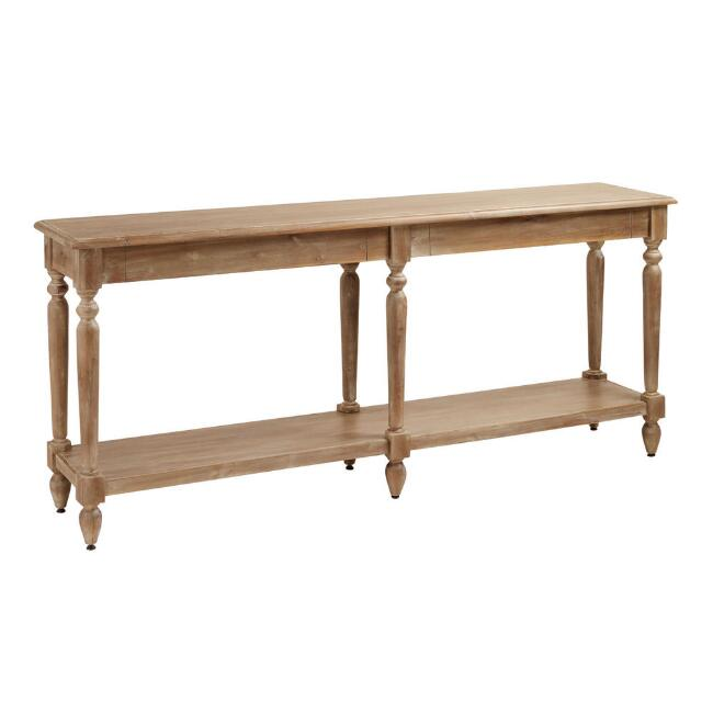 Wood Everett Foyer Table