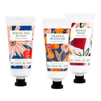 A&G Painted Wash Hand Cream Set of 2
