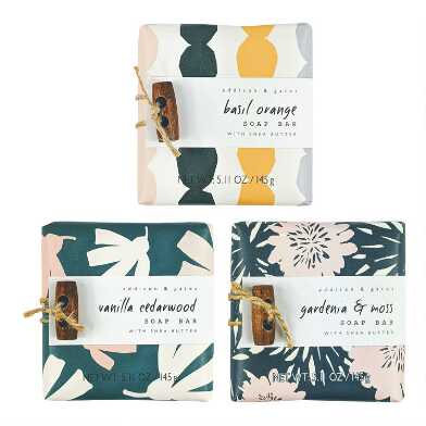 A&G Indie Bar Soap Set of 2