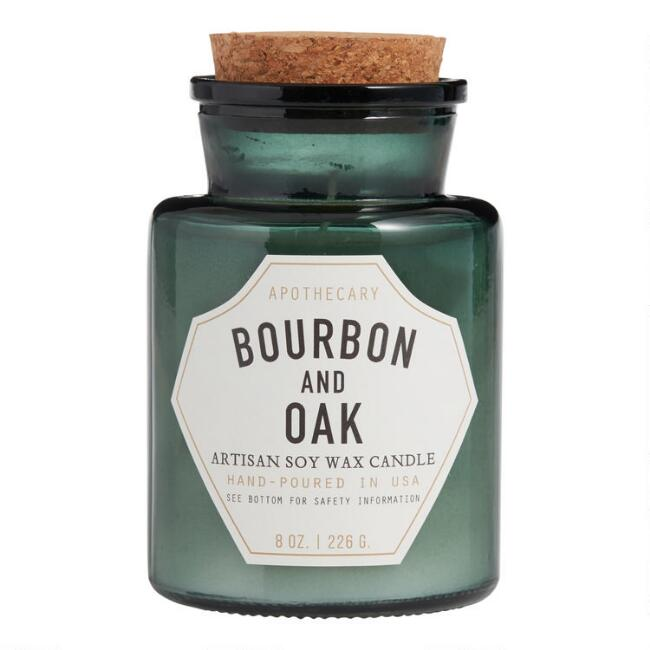Paddywax Bourbon And Oak Old Fashioned Filled Candle