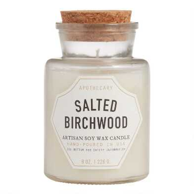 Paddywax Salted Birchwood Old Fashioned Filled Candle