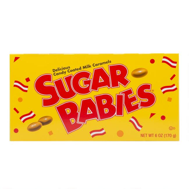 Sugar Babies Candy Theater Box Set Of 6