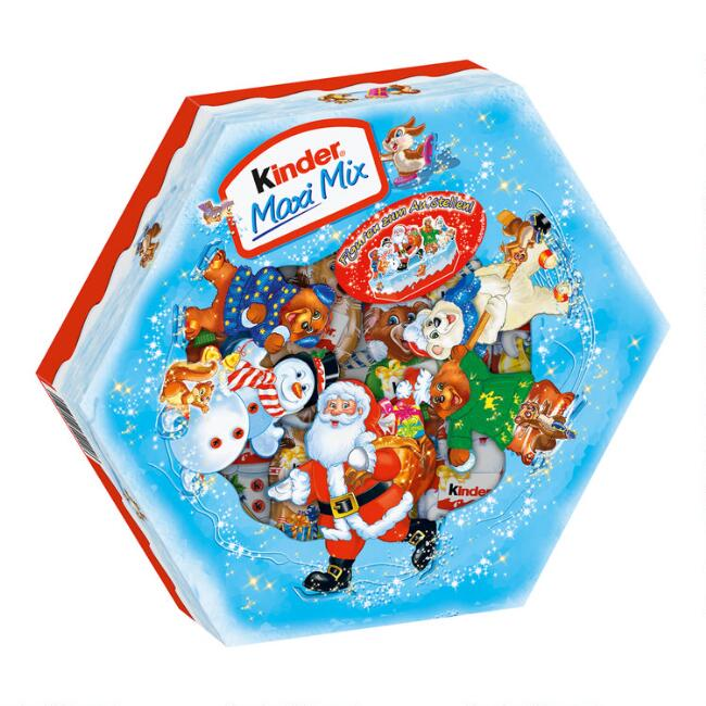 Kinder Maxi Mix Mini Chocolates Holiday Box