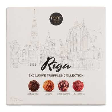 Pure Chocolate Assorted Truffles 16 Piece Collection