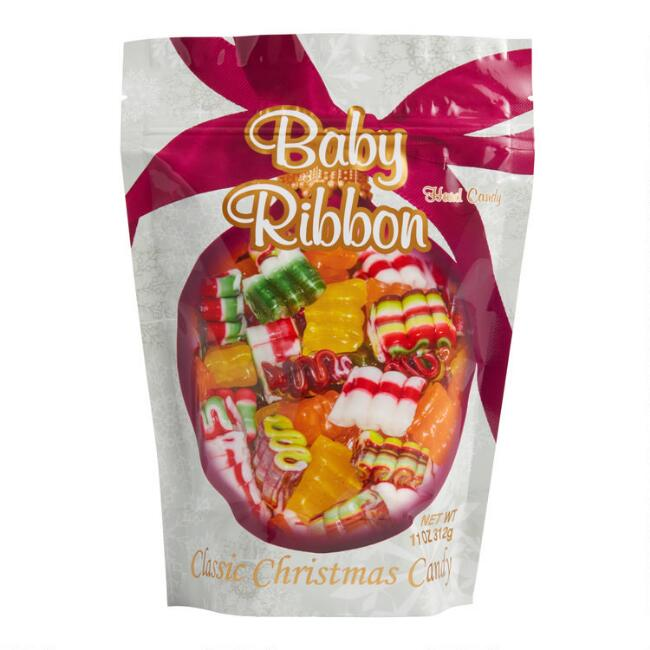 Old Fashioned Baby Ribbon Christmas Candy Mix