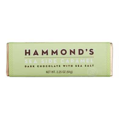 Hammond's Sea Side Caramel Dark Chocolate Bar Set Of 2