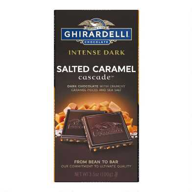 Ghirardelli Salted Caramel Dark Chocolate Bar Set Of 2