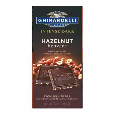 Ghirardelli Hazelnut Dark Chocolate Bar Set Of 2