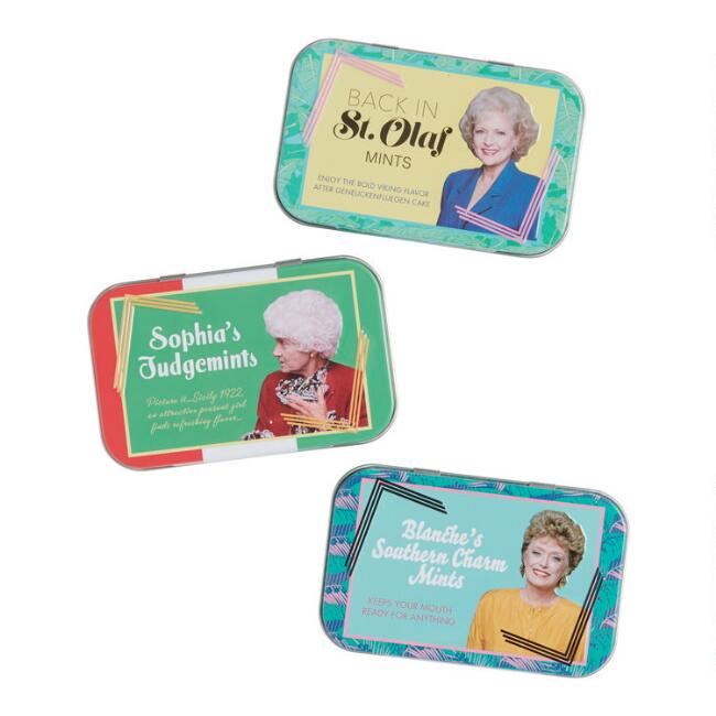 Golden Girls Stay Golden Mints Tins Set of 3
