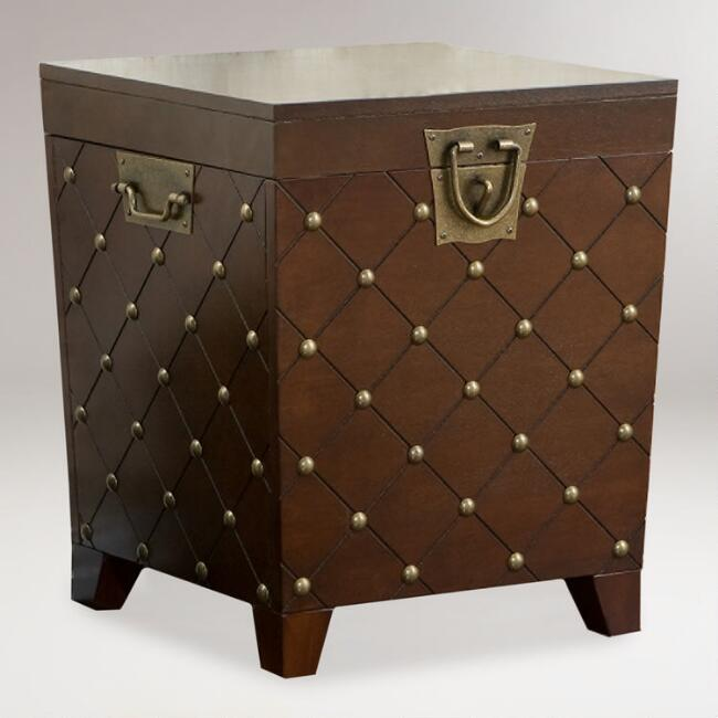 Hunter Trunk End Table