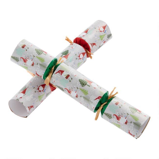Medium Dancing Gnome Musical Crackers 8 Count