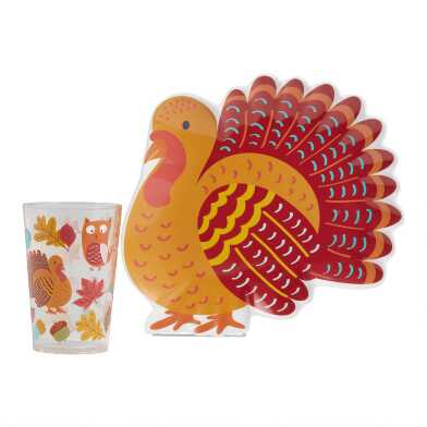 Thanksgiving Kids Dinnerware Collection
