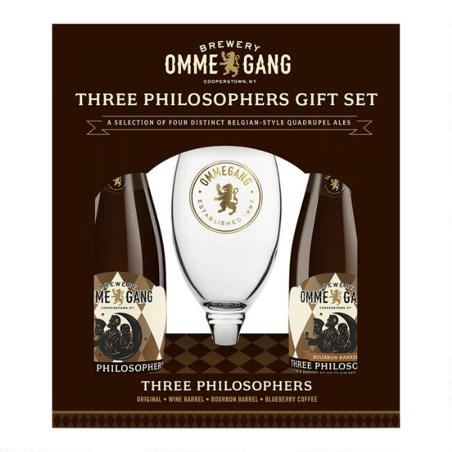 Ommegang Ale 4 Pack With Glass