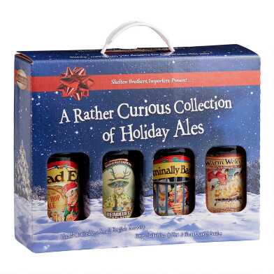 A Curious Collection Of Holiday Ales Beer 4 Pack