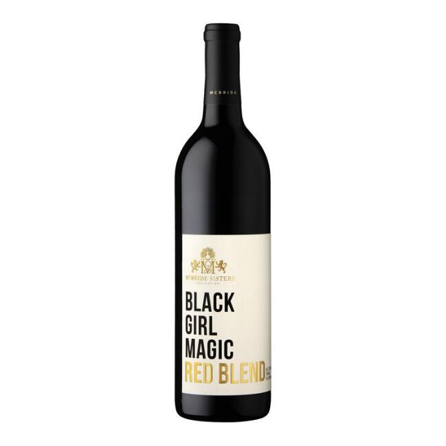 Black Girl Magic Red Wine