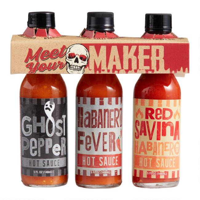 House Autry Meet Your Maker Hot Sauce Gift Set 3 Pack