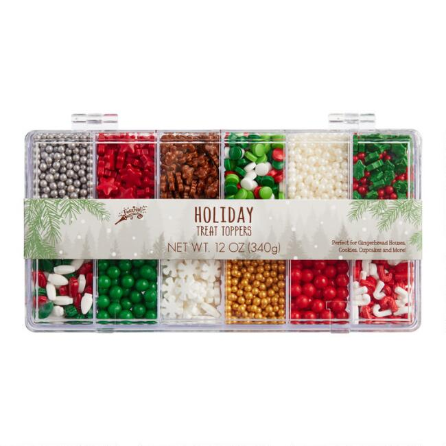Holiday Treat Toppers Candy Sprinkle Tackle Box