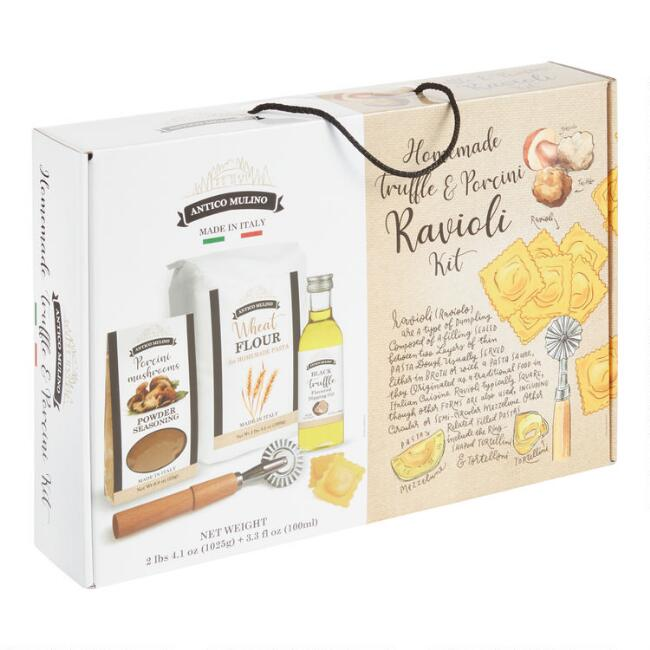 Antico Mulino Homemade Truffle Ravioli Making Kit