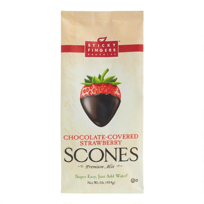Sticky Fingers Chocolate Covered Strawberry Scone Mix