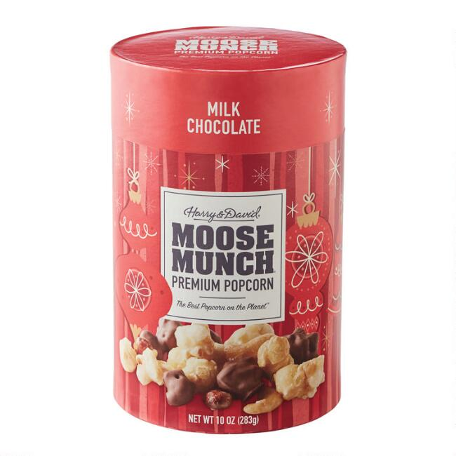 Harry & David Milk Chocolate Holiday Moose Munch