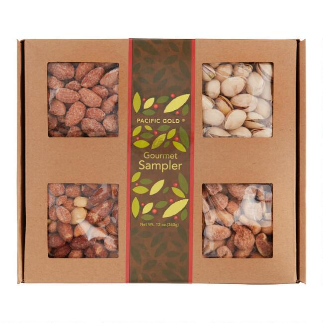 Pacific Gold Nuts Gift Tray