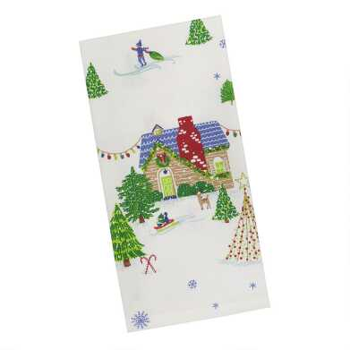 Holiday Houses Kitchen Towel