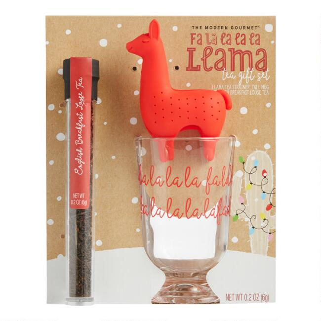 Fa La La La La Llama English Breakfast Tea Gift Set
