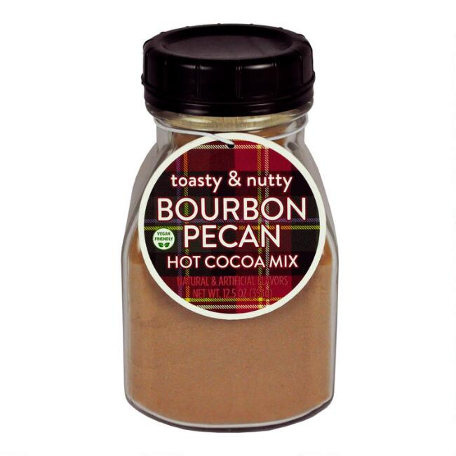 Toasty & Nutty Bourbon Pecan Hot Cocoa Mix Jar