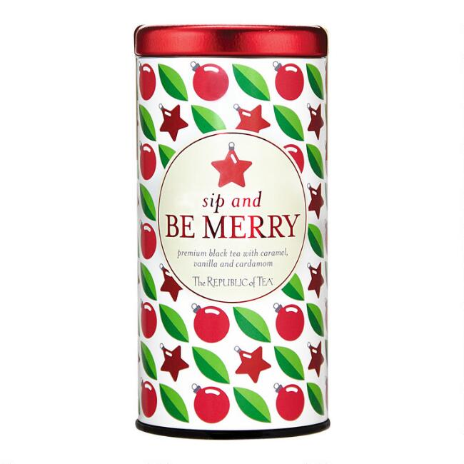 The Republic of Tea Sip and Be Merry Black Tea 36 Count
