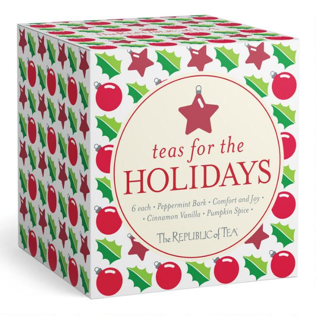 The Republic of Tea Holiday Cube Variety Box 24 Count