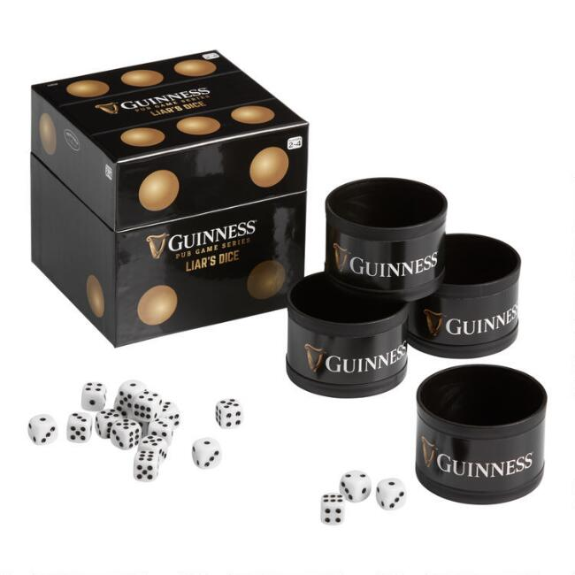 Guinness Liars Dice Game