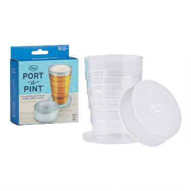Fred Port A Pint Pop Up Glass