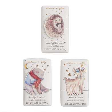 A&G Nordic Animals Bar Soap