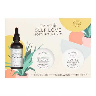 A&G The Art of Self Love Bath and Body Care Gift Set