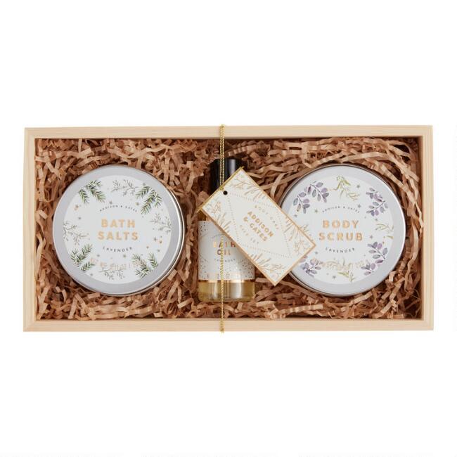 A&G Lavender Bath and Shower Gift Box