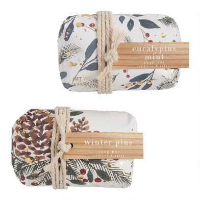 A&G Winter Woodlands Bar Soap