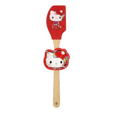 Hello Kitty Tokyo Spatula and Cookie Cutter Set