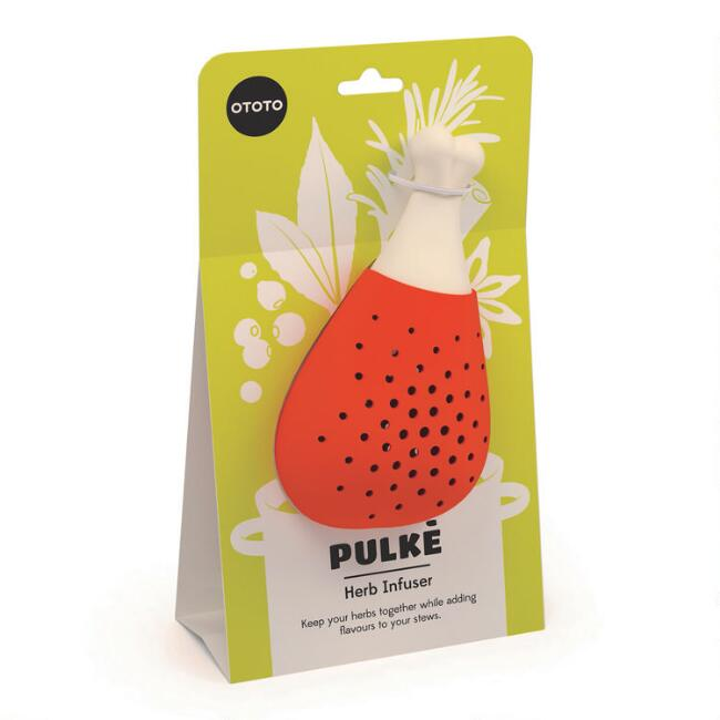 Ototo Pulke Drumstick Silicone Herb Infuser