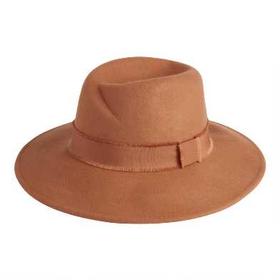 Tan Molded Rancher Hat