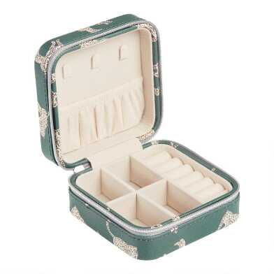 Cheetah Travel Jewelry box