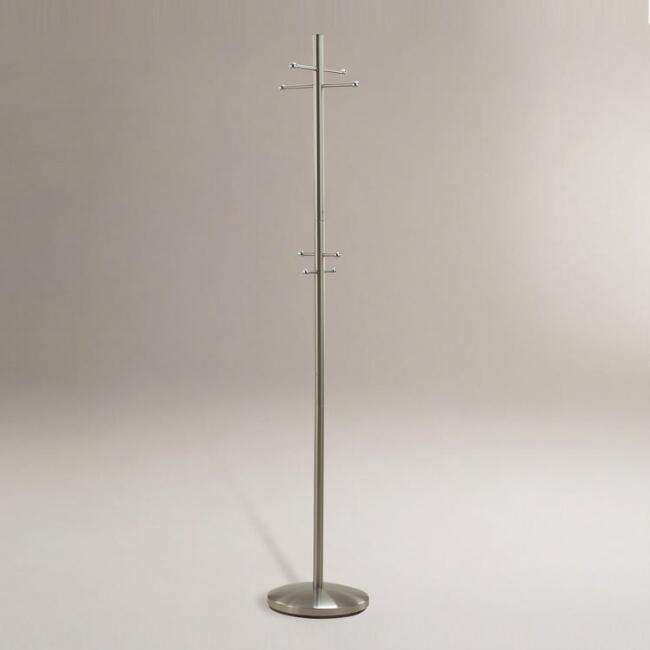 Steel Coat Rack with Umbrella Stand