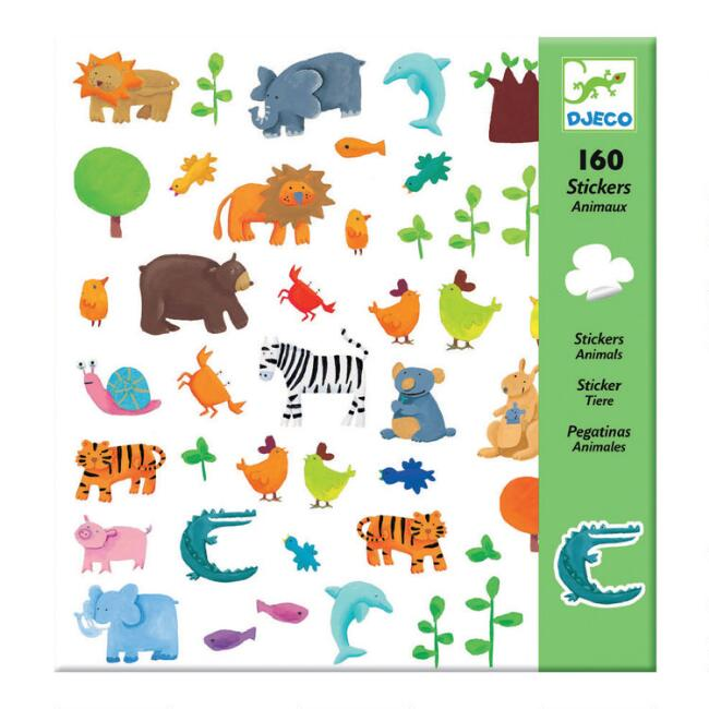 Djeco Animal Stickers